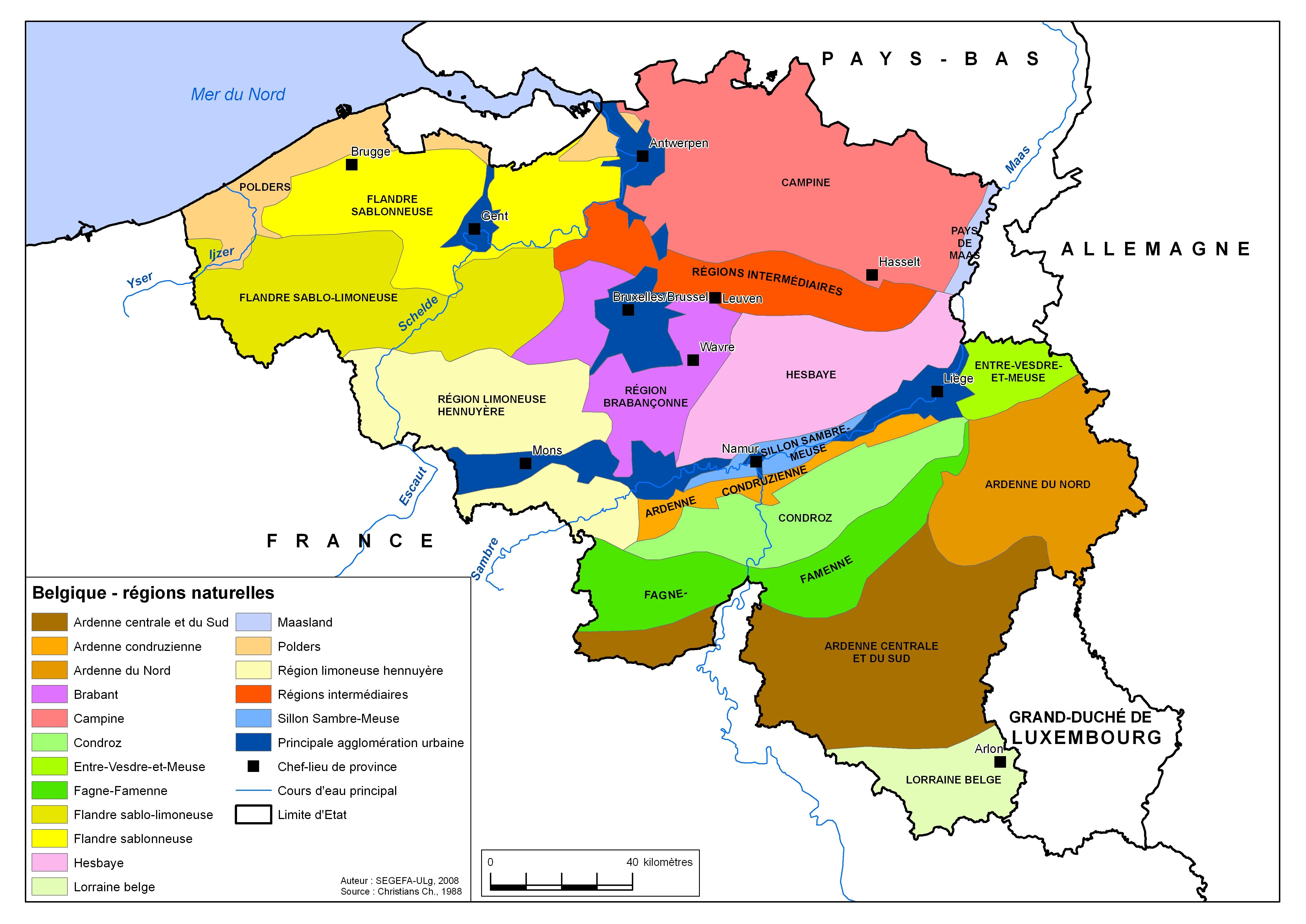 Carte Belgique Fleuves Et Rivieres.Enseignement Be Boite A Outils Des Professeurs Atlas
