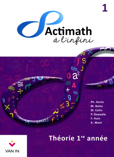 actimath 1 secondaire