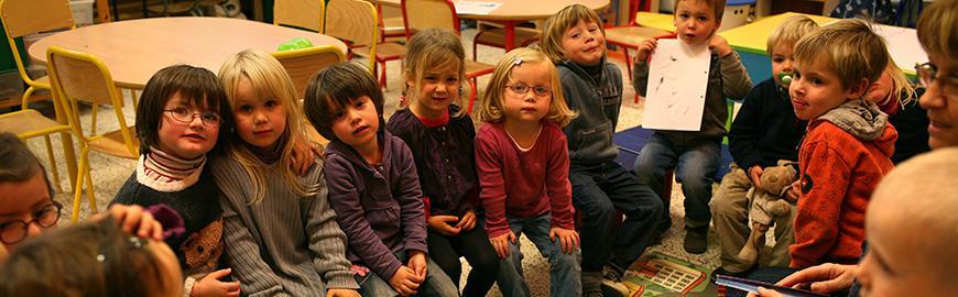 Une classe de maternelle PROF/FWB/Michel Vanden Eeckhoudt