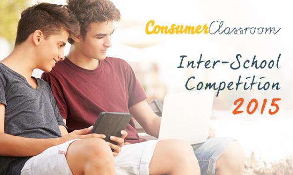 Concours interscolaire Consumer Classroom 2015
