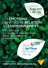 Les émotions dans notre relation à l'environnement