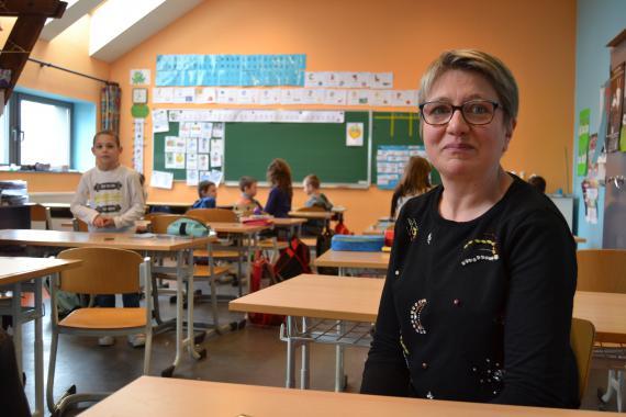 Sandra Dehez : « Quand un enfant est en difficulté, je ne suis plus seule : on est deux au moins à voir comment l'aider ».