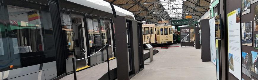 L'exposition AmsTRAMgram est consacrée au futur tram de Liège. Elle est accessible gratuitement aux écoles.