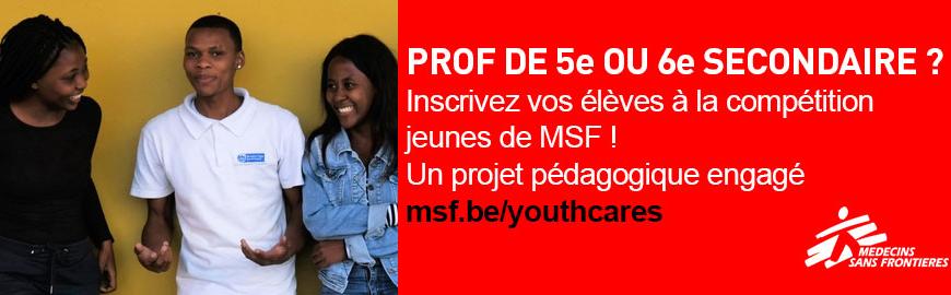 MSF organise la deuxième édition du concours Youthcares