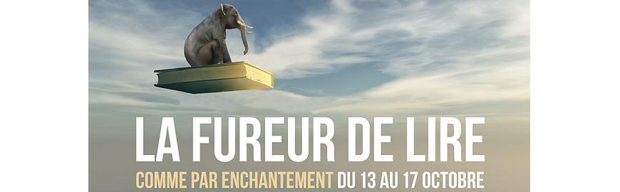 La Fureur de lire 2021 a lieu du 13 au 17 octobre 2021.